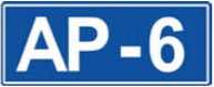 roads in spain: autopistas