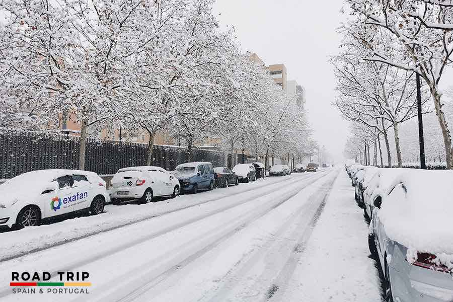 best time to go to spain: winter