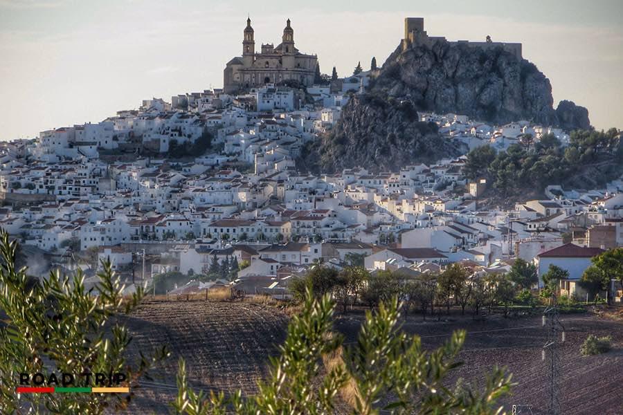 Pueblos Blancos, one of the best road trips in Spain.
