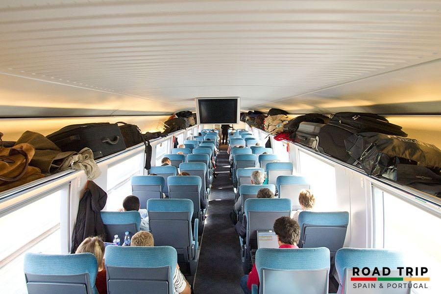high speed train in Spain